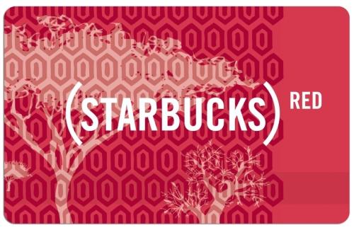 Starbucks RED card